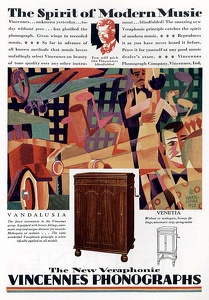 Vincennes Phonographs -1927A