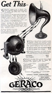 Geraco Radio Accessories -1922A