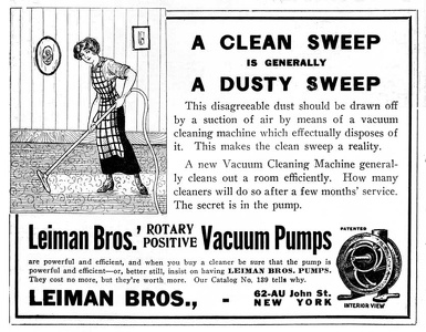 Leiman Bros. Vacuum Pumps -1913A