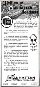 Manhattan Headsets -1922A