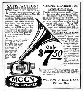 Moon Loudspeakers -1922A