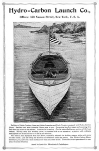 Hydro-Carbon Launch Boats -1897A