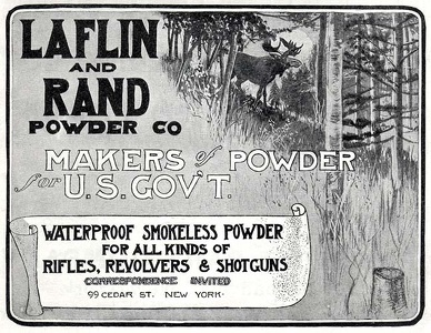 Laflin and Rand Powder Co. -1900'sA