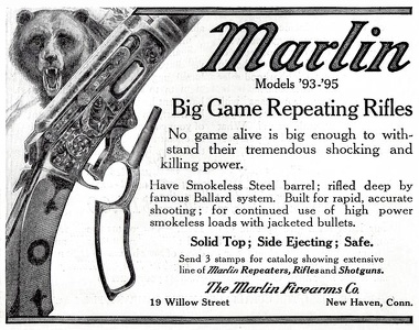 Marlin Big Game Rifles -1913A