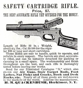 Quackenbush Safety Cartridge Rifle -1888A