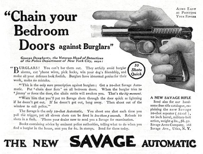 Savage Automatic Pistols -1912A