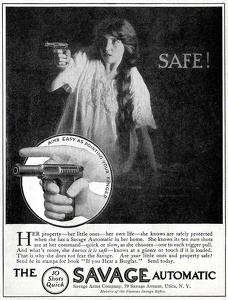 Savage Automatic Pistols -1913A