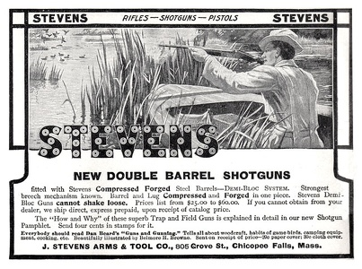 Stevens Arm and Tool Co. Shotguns -1908A