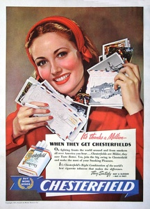 Chesterfield Cigarettes -1944B