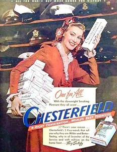 Chesterfield Cigarettes -1944C