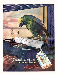 Chesterfield Cigarettes -1937A
