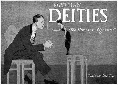 Egyptian Deities Cigarettes -1914A