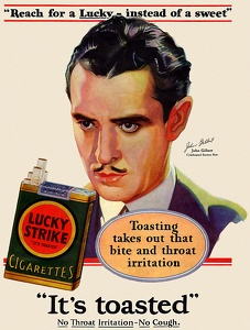 Lucky Strike Cigarettes -1929B
