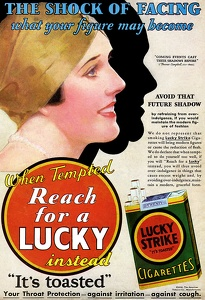 Lucky Strike Cigarettes -1930C