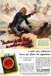 Lucky Strike Cigarettes -1932E