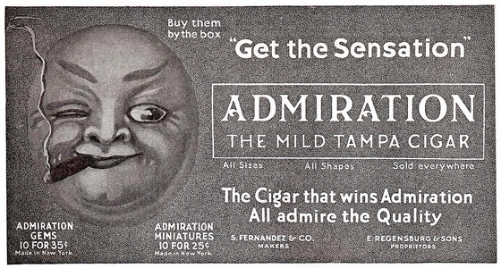 Admiration Cigars -1915A