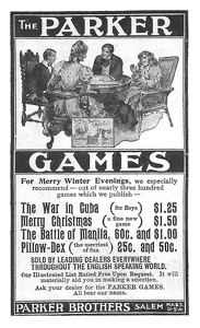 Parker Brothers Games -1898A