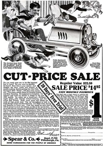 Spear Boy's Autos -1925A