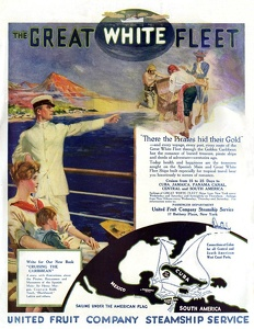 United Fruit Company Steamship Service -1915A