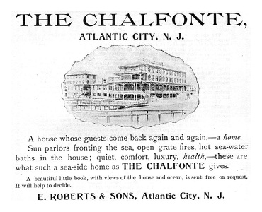 Chalfonte Hotel Atlantic City, NJ -1894A