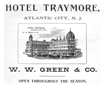 Hotel Traymore Atlantic City, NJ -1894A