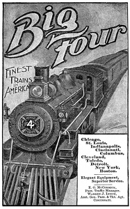 Big Four Railroad -1898A