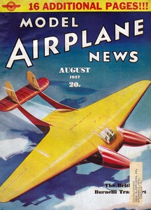 Model Airplane News 1937-08