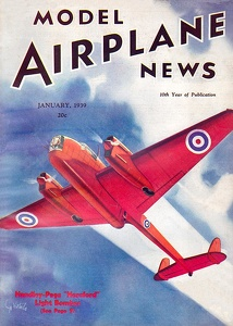 Model Airplane News 1939-01