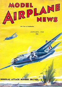 Model Airplane News 1940-01