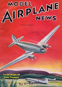 Model Airplane News 1941-08