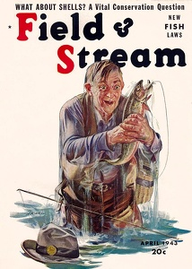 Field and Stream 1943-04