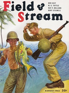 Field and Stream 1943-08