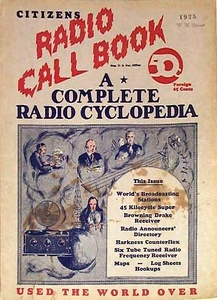 Citizens Radio Call Book 1925-Fall