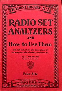Gernsback's Radio Library -No. 1 -1931-front