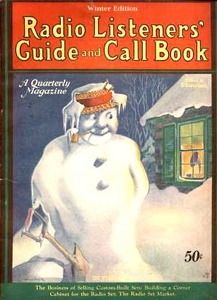 Radio Listener's Guide 1928-Winter