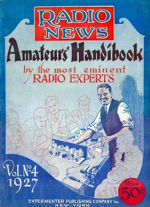 Radio News Amateurs' Handibook 1927 -Vol. 4