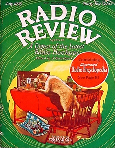 Radio Review 1925-07