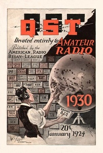 QST, the Ham Radio magazine from the A.R.R.L.
