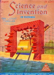 Science and Invention 1925-08