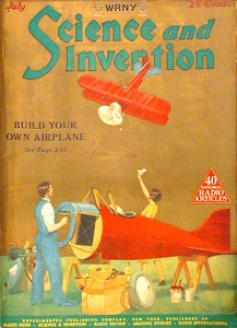 Science and Invention 1926-07