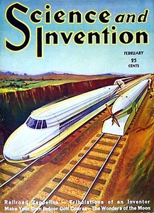 Science and Invention, a Gernsback technical magazine