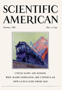 Scientific American 1928-10