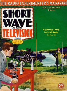 Short Wave and Television 1937-08