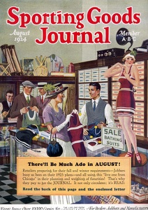 Sporting Goods Journal 1924-08