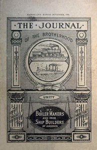 Journal of the Brotherhood of Boiler Makers and Iron Ship Builders of America 1906-11