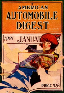 American Automobile Digest 1921-01