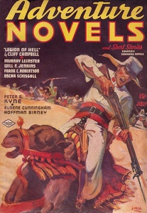 Adventure Novels and Short Stories 1937-07