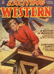 Exciting Western 1950-01
