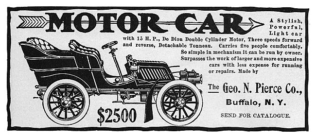 Pierce-Arrow Cars -1903B
