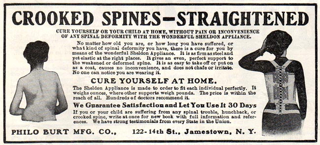 Sheldon Appliance Spine Straightener -1912A